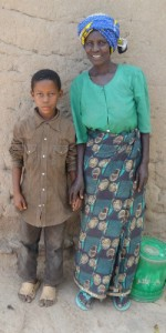 Project Zawadi sponsored student family