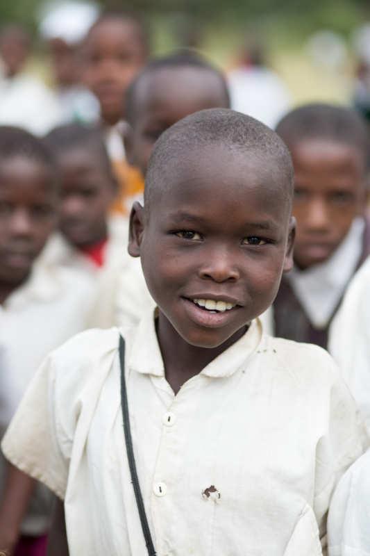 tanzania student smling