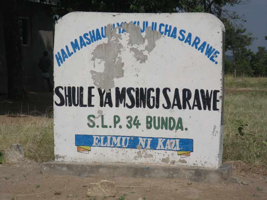 Sarawe-sign