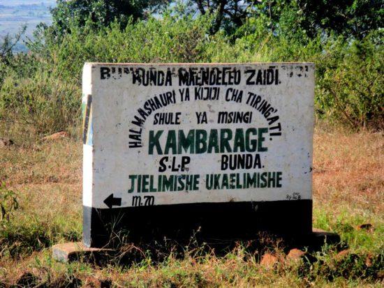 Kambarage-School-Sign